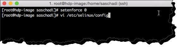 SELinux abschalten (1)