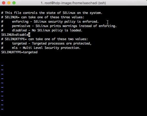 SELinux abschalten (2)