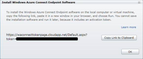 Windows Azure - Install Local Endpoint