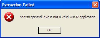 Windows Azure - Install Local Endpoint - Windows XP Fehlermeldung