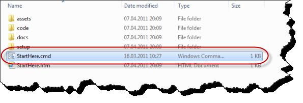Windows Azure Accelerator für Umbraco - Stammverzeichnis