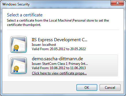Ssl Zertifikate In Windows Azure Verwenden Sascha Dittmann