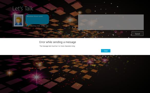 Windows Azure Mobile Service - Fehlermeldung vom Tabellenskript
