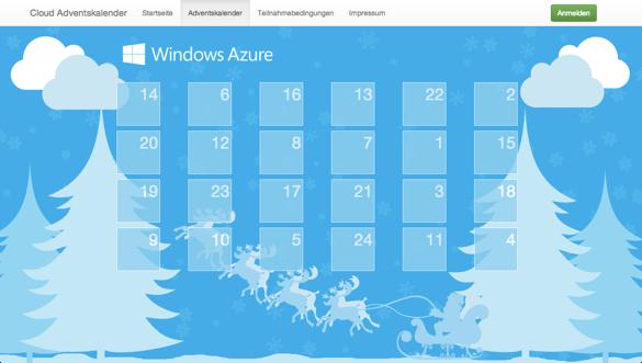 Cloud Adventskalender 2013