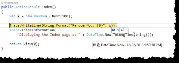 Debugging mit Visual Studio