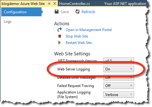Web Server Logging