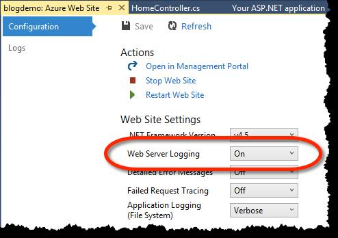 Web Server Logging