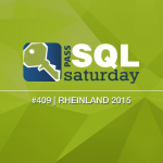 SQL Saturday #409 Rheinland