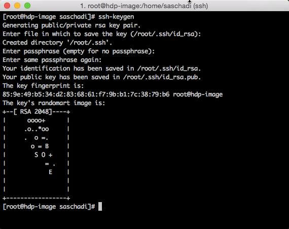 SSH Keys erzeugen