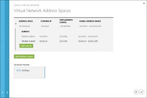 Virtuelles Netzwerk - Adressräume und Subnetze