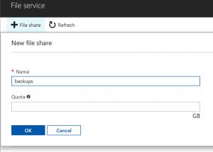 Create File Share